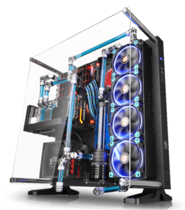Thermaltake Core P5 ATX Open Frame Panoramic Viewing Gaming Computer Chassis Provides Panoramic Viewing_1